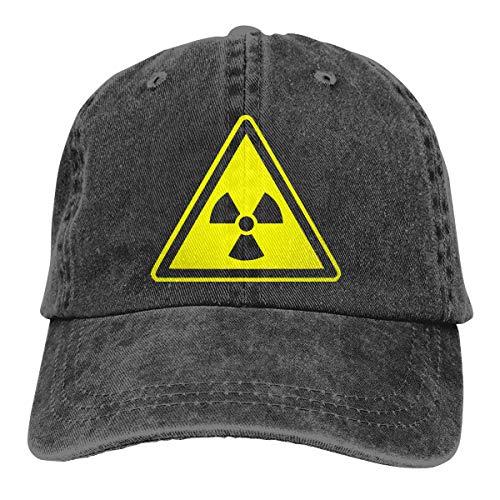 Men Women Vintage Yarn-Dyed Denim Baseball Cap Radioactive Golf Hats