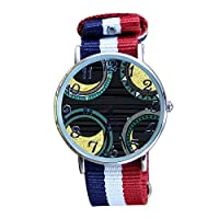 Women's Astronomy Casual Watch Fashion Canvas Analog Wrist Watches