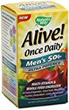 Nature'S Way Alive Once Daily Men's 50 Plus Multi-Vitamin – 60 Tablets (Pack of 3) For Sale