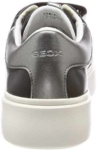 Zapatillas para C Nhenbus D Mujer Black Geox Negro Bxq6OwPZ