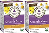 Traditional Medicinals Organic Smooth Move Herbal Tea Chamomile 2-pack;32 Count. For Sale