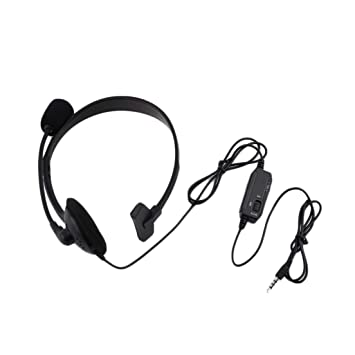 DF-ES Black Wired Gaming Headset Game Headphone Micrófono Diadema ...