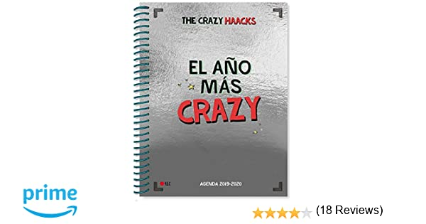 El año más crazy. Agenda curso 2019-2020 (The Crazy Haacks)