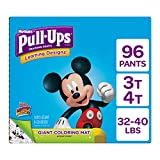 Pull Ups Easy Open Sides Learning Designs Training Pants for Boys, 3T-4T, 96 Count