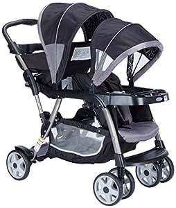 Graco Ready 2 Grow Stroller Viceroy, Black/Grey