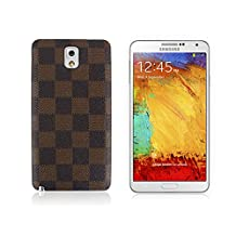 JD BOX - Brown Designer Cover Case for Samsung Galaxy Note 3