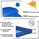 Garden EXPERT Sun Shade Sail Rectangle Canopy