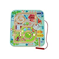 HABA Town Maze Magnetic Game for Ages 2+