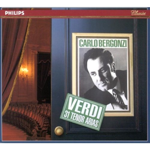 Carlo Bergonzi : Verdi 31 Tenor Arias (3 CD Box Set) (Philips) by Philips
