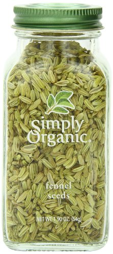 Simply Organic Fennel Seed, 1.9 Ounce