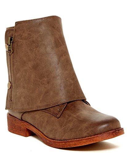 Bucco Women's Jacobies Boot, Brown, 7.5 M US