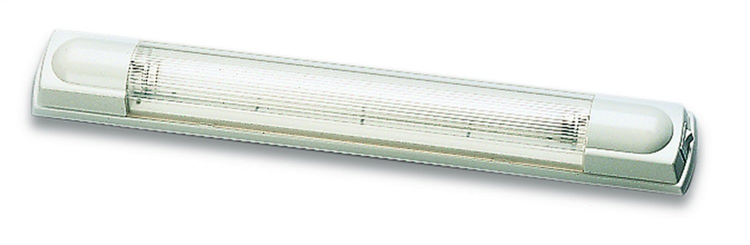 HELLA 007372002 '7372 Series' 17'' 12V/8W Transistorized Fluorescent Tube Light with White Housing
