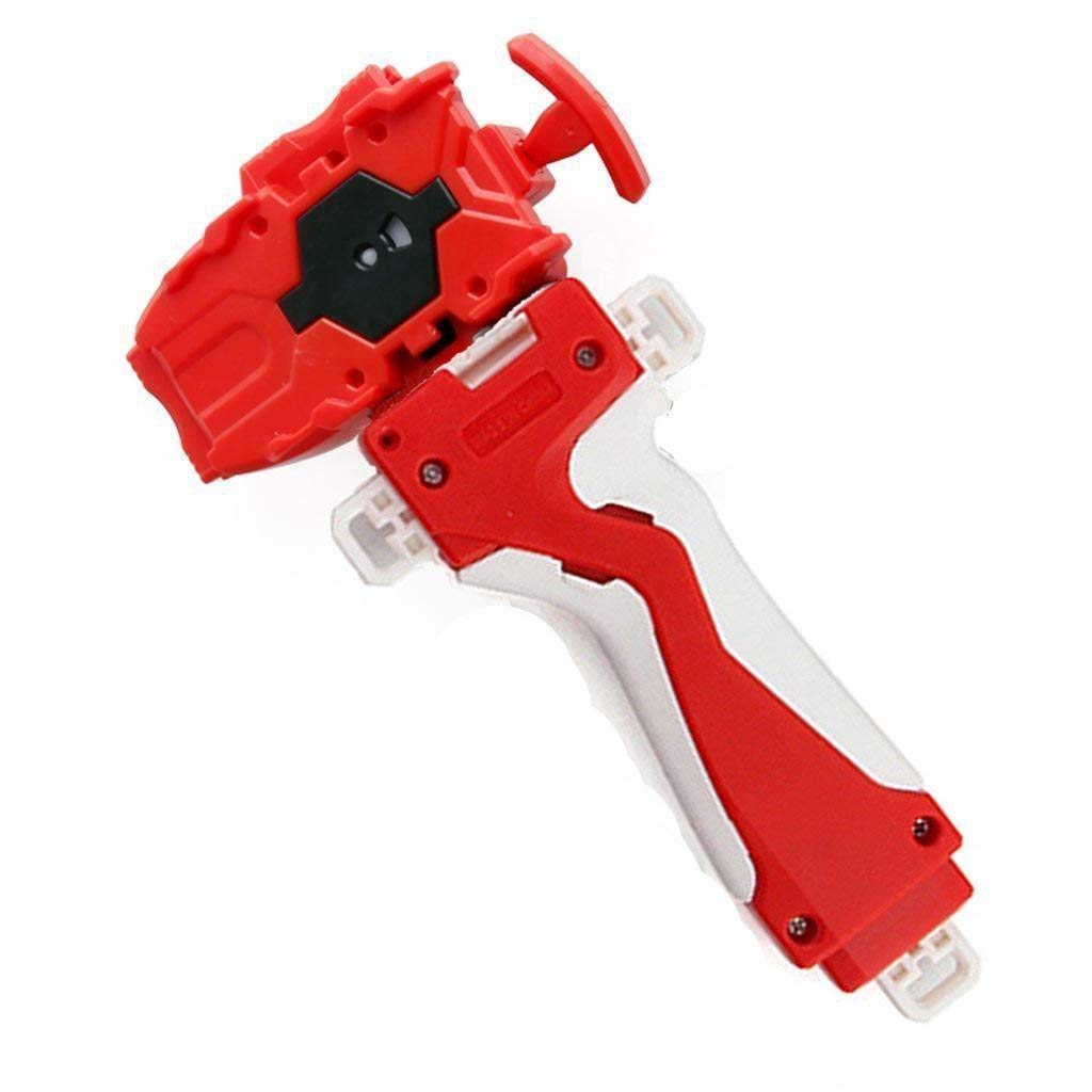 Kavcent Bey Burst String Launcher Grip.Right Spin! Battling Top Burst Starter String Launcher Toys Accessories(Red)