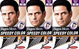 Bigen Men's Speedy Hair Colour 101 Natural Black X 3 Packs