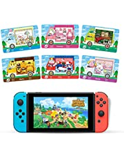 6pcs NFC Cards for Animal Crossing Sanrio NFC Game Cards, (Rilla, Marty, étoile, Chai, Chelsea, Toby), Compatible with Switch/Switch Lite/New 3DS with Cards Box