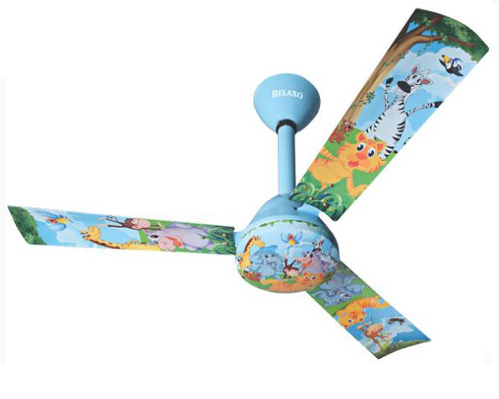 Buy Relaxo Kids Ceiling Fans High Speed Ceiling Fan Multicolour Small Online At Low Prices In India Amazon In