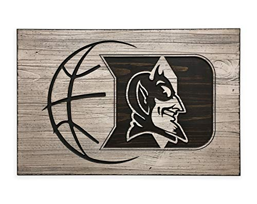 - MosesMat41 Duke Blue Devils Athletics Wall Decor Sports Fan Basketball College Football Gift for Him Gift for Her Rustic Family Den Wall Art