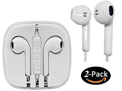 Auriculares Jiayou Accesorios con Control Remoto y Micrófono Una para iPhone 4 4s 5 5s 5se