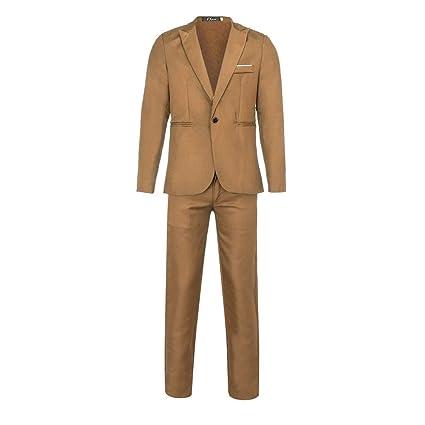 Amazon.com: Traje para hombre para boda 2019 - chaqueta de ...