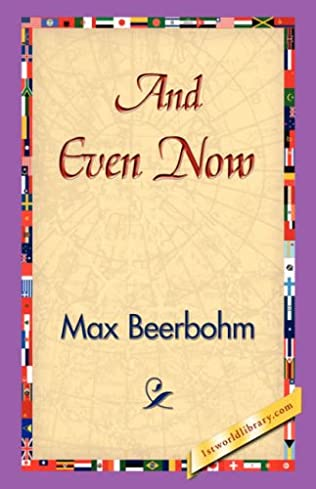 book cover of And Even Now