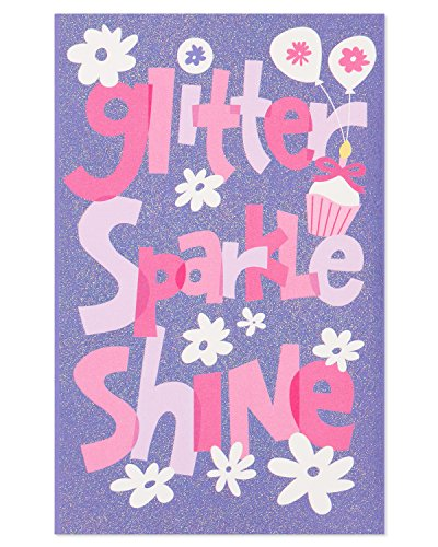 American Greetings Glitter Sparkle Shine Birthday Card for G