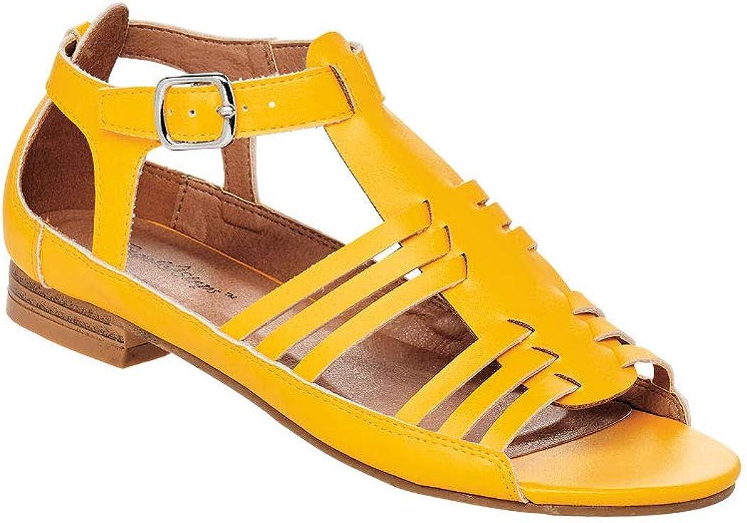 Vintage Sandals | Wedges, Espadrilles – 30s, 40s, 50s, 60s, 70s AngelSteps Womens Adult Victoria Sandals $33.99 AT vintagedancer.com