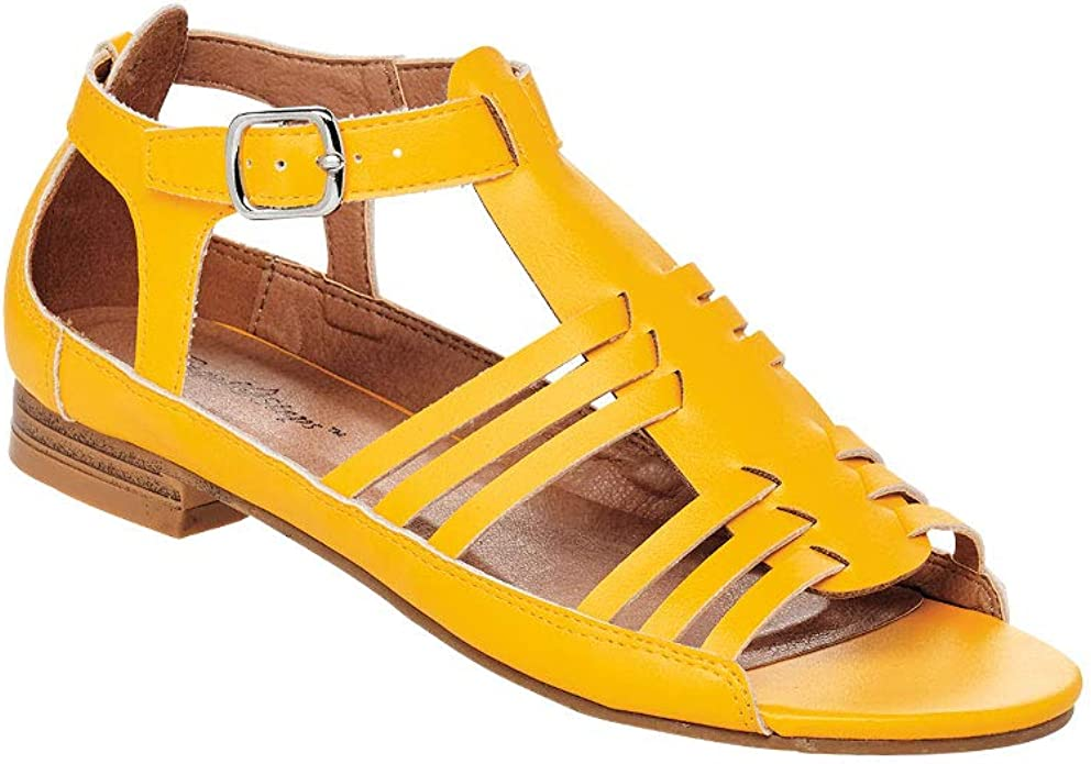 What Did Women Wear in the 1950s? 1950s Fashion Guide AngelSteps Womens Adult Victoria Sandal Sandals $37.99 AT vintagedancer.com