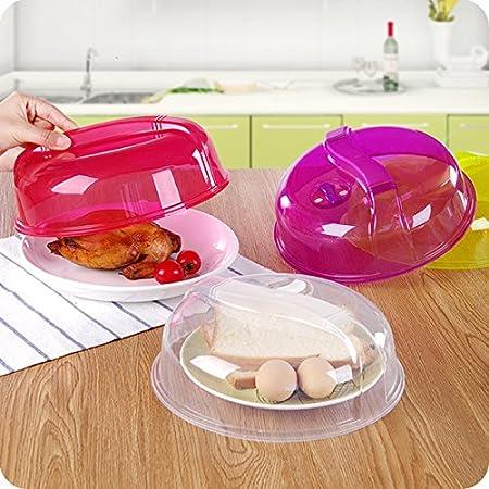 honfei placa de microondas de plástico para alimentos tapa ...