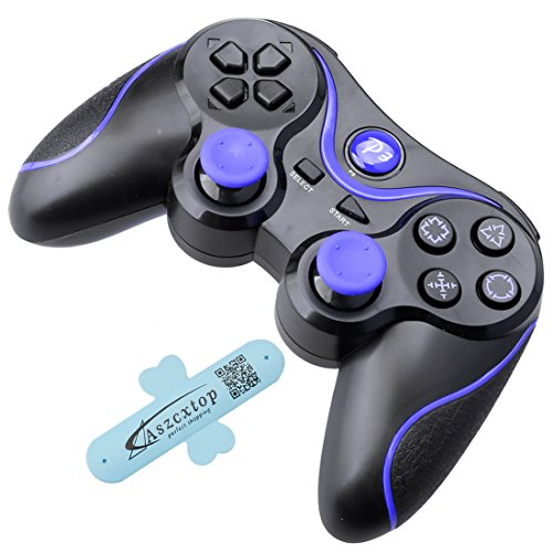 Price comparison product image A-SZCXTOP Dualshock PS3 Bluetooth Game Controller Wireless Rechargeable Gamepad for Playstation 3