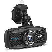 Dash Cam for Cars PEBA Super HD 1296P Dashboard Camera Car DVR Vehicle Video Recorder with 2.7-Inch LCD, G-Sensor, Loop Recording, Super Night Vision