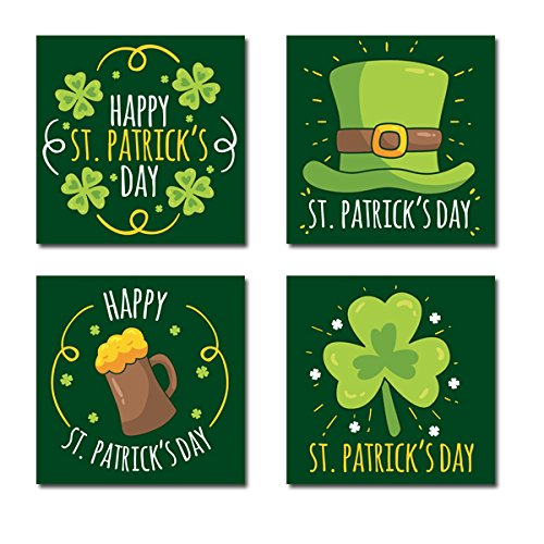 Happy St. Patrick's Day Canvas Wall Art
