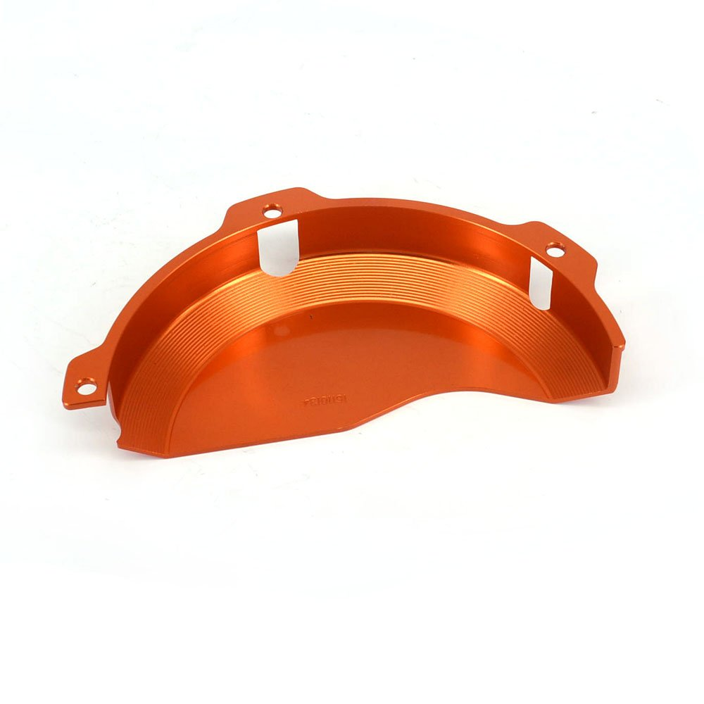 JFG RACING CNC Aluminum Billet Orange Engine Case Clutch Cover Guard Protector For KTM EXC 250 EXC 300 2009-2016 250SX 2009-2015 by JFG RACING (Image #2)