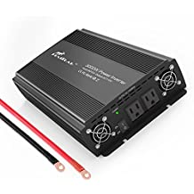 HAITRAL 3000 Watt Power Inverter 12 Volt DC to 110 Volt AC Voltage Car Adapter, Car Inverter,Automotive Back up Power Supply for Refrigerators, TV, Rechargeable Devices