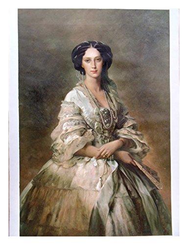Empress Custom Portrait Paint Art