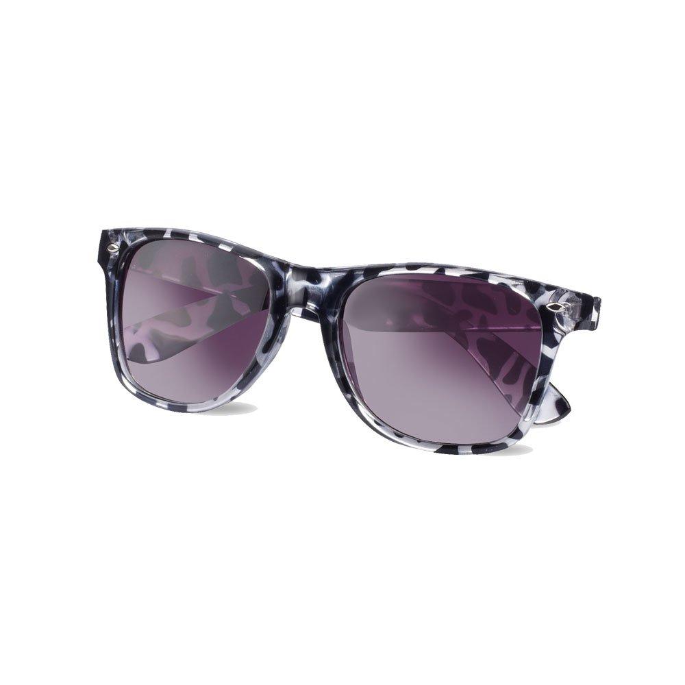 eBuyGB Wayfarer Style Sunglasses - Sun Protection UV400 Unisex Classic Geek Nerd Retro Fuchsia 1259038