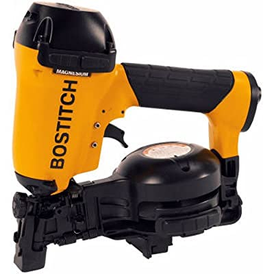 BOSTITCH RN46-1 3/4-Inch to 1-3/4-Inch Coil Roofing Nailer - Power Roofing Nailers -