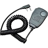 Kenwood Original SMC-34 Hand Speaker Mic w/ Swivel Clip, Volume & Remote Control, & 2.5 mm Earpiece Audio Jack