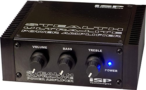 ISP Technologies Stealth Ultra-Lite 180-Watt Pedalboard Power Amp (Amp 180w Bass)