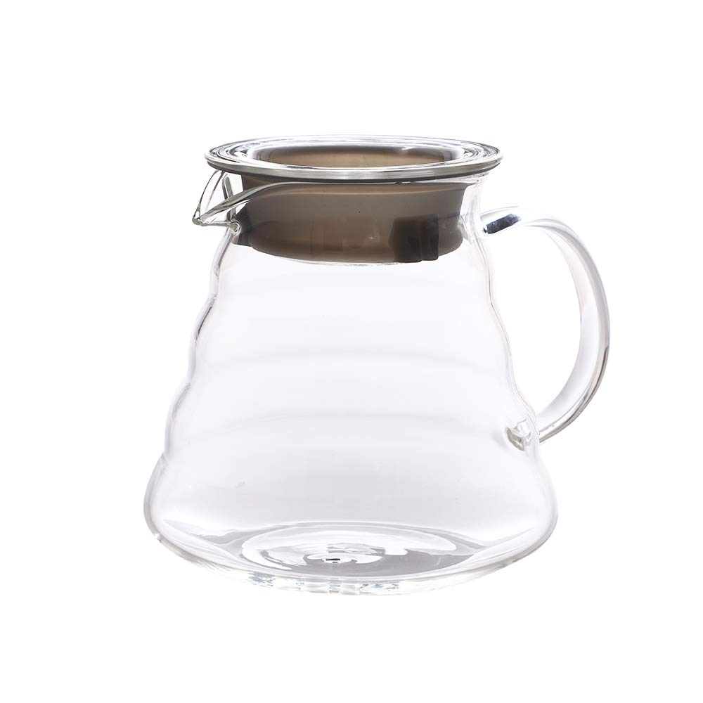 Clear Glass Coffee Carafe Server Coffee Pot Teapot Kettle (360ML) Kslong