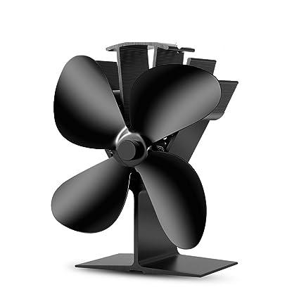 Cutogain Cortador no Requiere Electricidad, Ventilador de Estufa con Calor para Estufas de Gas de