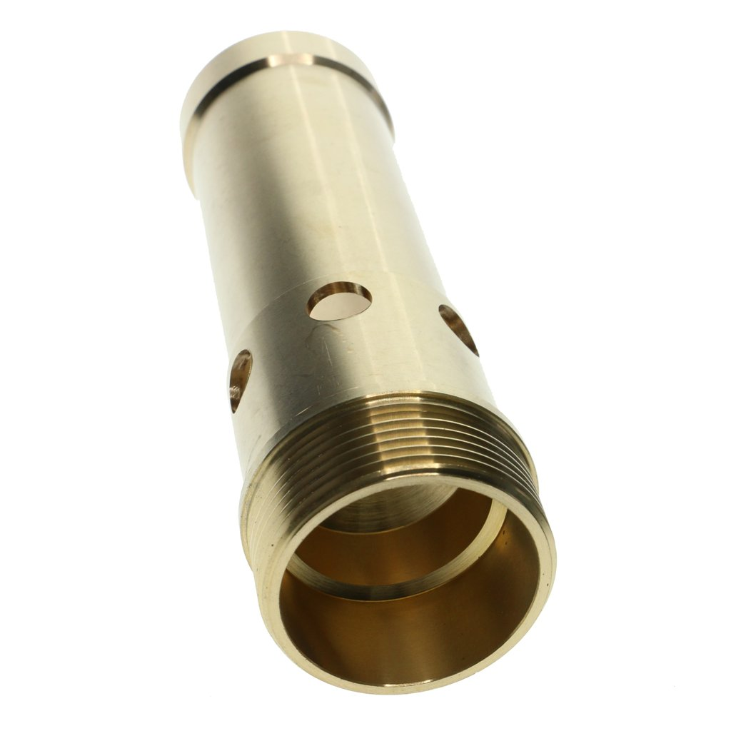 D DOLITY Spring Bubbling Style Fountain Nozzle Garden Sprinklers Pond Fountain Water Nozzle Sprinkler Spray Head Gold - DN50