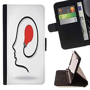 King Case - FOR LG OPTIMUS L90 - must be diligent - Prima caja de la PU billetera de cuero con ranuras para tarjetas, efectivo Compartimiento desmontable y correa para la mu?eca