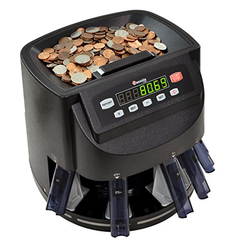 Cassida Coin Counter Machine, US Currency