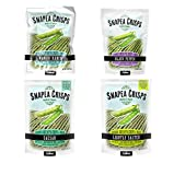 Calbee Snapea Crisps, Four Flavor Variety (Pack of 4)
