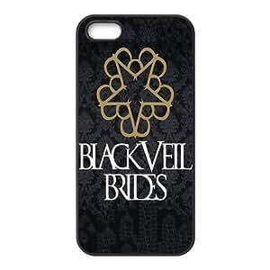 Customize Black Veil Brides Back Case for iphone5 5S JN5S-2112