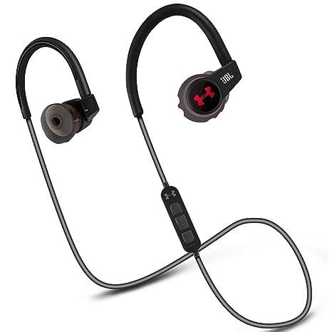 Under Armour - Sport Wireless Heart Rate (Engineered by JBL), Auriculares intraaurales inalámbricos con monitorización del Ritmo cardíaco para ...