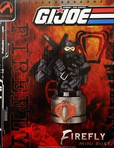 Palisades G.I. Joe Collection: Firefly (Cobra Saboteur) Mini Bust Statue