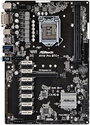 Asrock H110 Pro Btc Motherboard Mehrfarbig Computer Zubehör