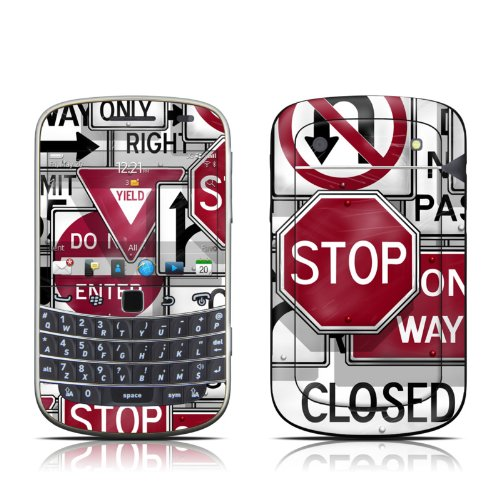Signs Design Protector Skin Decal Sticker for BlackBerry Bold Touch 9930 9900 Cell Phone