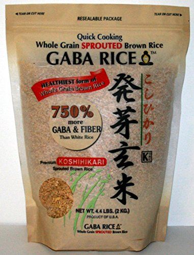 GABA - Sprouted Brown Rice 2.0kg (4.4 LB) - Gaba Brown Sprouted Rice